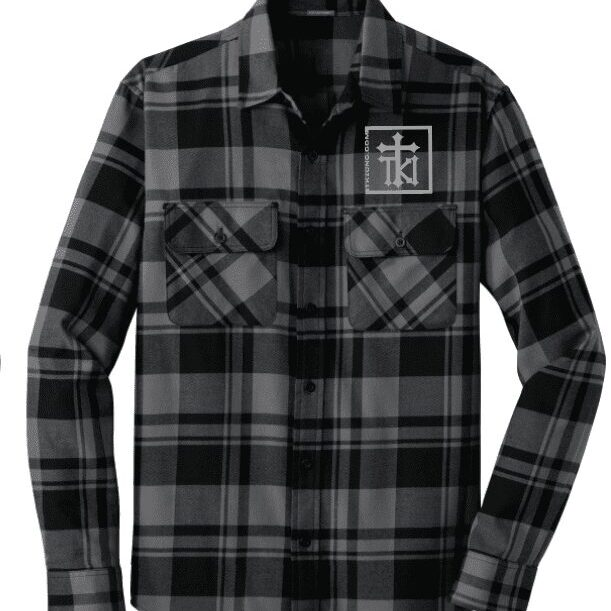 M Flannel Front