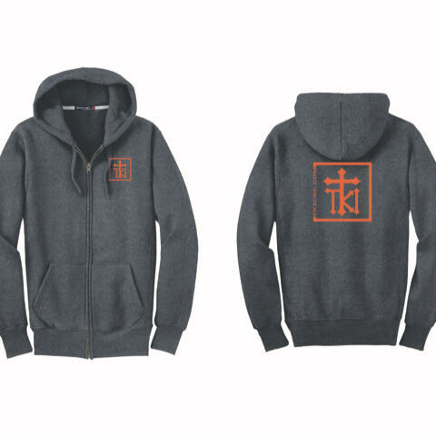 merch-zip up hoody
