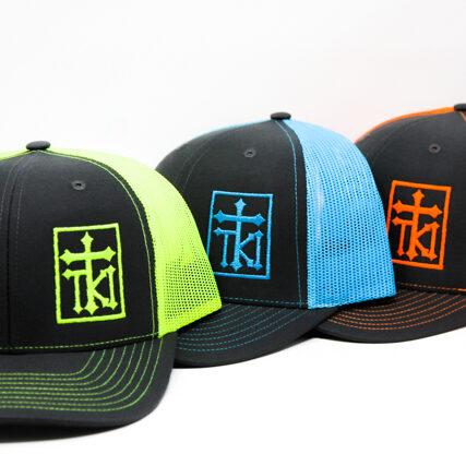 tki mesh hats multi